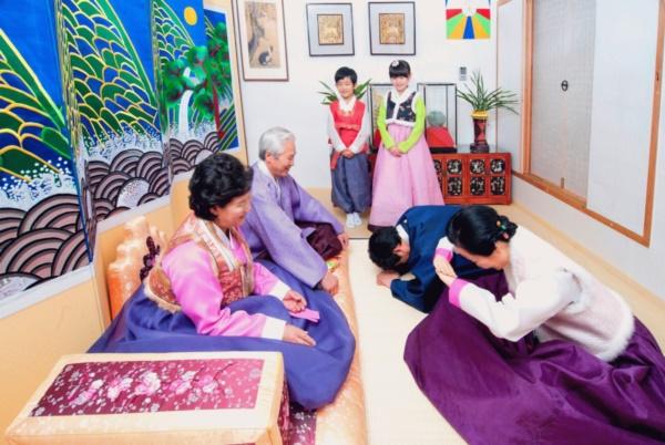 Văn hóa chào hỏi ở Hàn Quốc